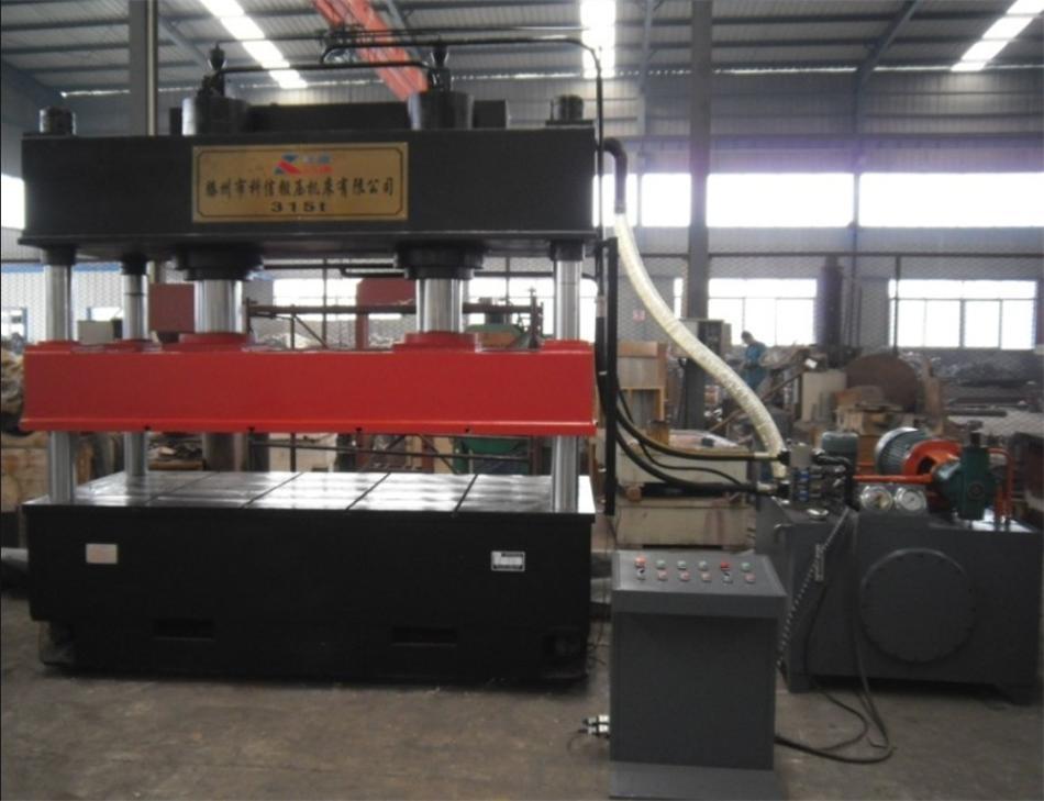 YL32-315吨金属彩钢 铁皮压花用液压机