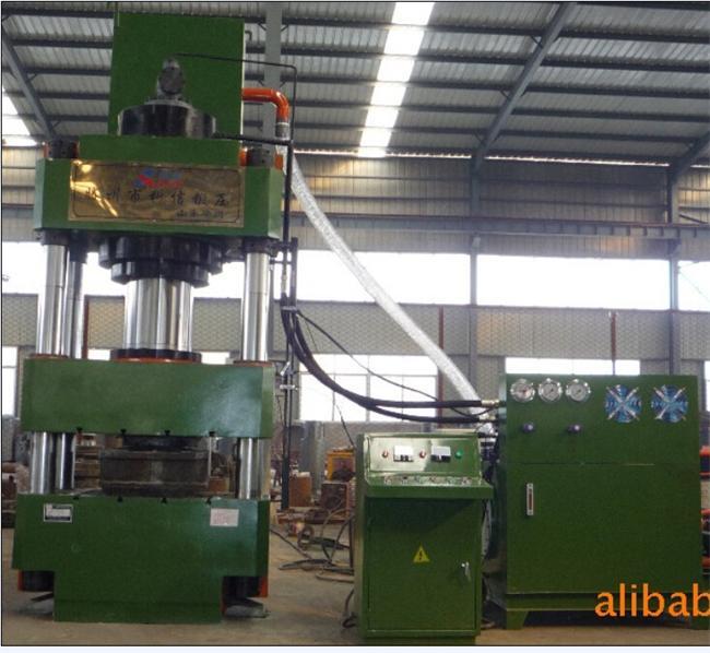 YL32-500吨三梁四柱液压机(砂轮磨料制品压制液压机)